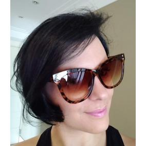 Óculos De Sol Estampa De Onça - Óculos no Mercado Livre Brasil 2527bea779