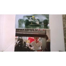 2 Pôsters Ayrton Senna