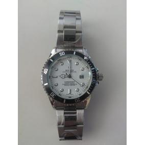 Relógio Luxo Masculino Pulseira Aço Original Na Caixa Oferta