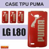 Capa Capinha Lg L80 Personalizada Puma