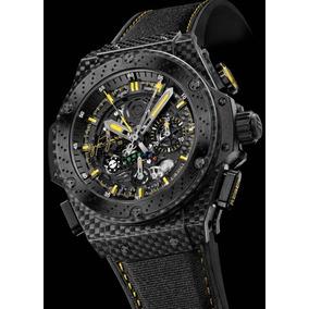 ca8ee118ed0 Relogio Hublot King Power Gold - Relógios no Mercado Livre Brasil