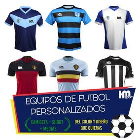 Camiseta Personalizada Futbol - Camisetas Azul en Mercado Libre ... a559bb1016a89