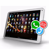 Tablet Telefono 10 Android Celular Bluetooth Pc Con Chip 3g