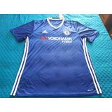 869a58c8d7 Camisa Chelsea Autografada Frank Lampard - Futebol no Mercado Livre ...