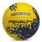 Kit Com 3 Bolas Volei Penalty Oficial Mg 3600