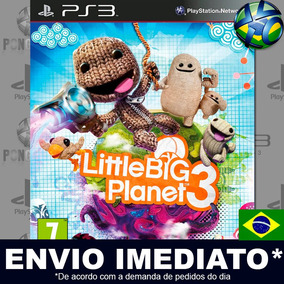Littlebigplanet 3 Ps3 Midia Digital Envio Imediato