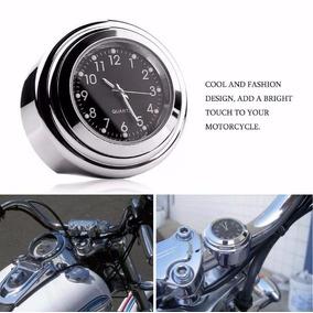 Relógio Para Guidão Moto Motocicleta Harley À Prova D
