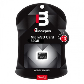 Blackpcs Mm4101 Memoria Micro Sdhc 32gb Cllas 10