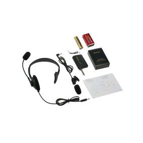 Micrófono Inalámbrico Transmisor De Fm Receptor Bolun Wr 601