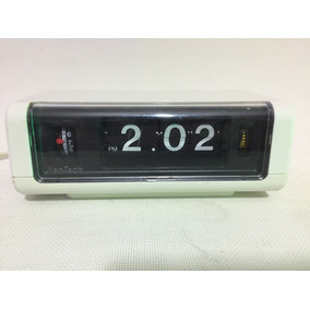 Hemoso Reloj Flip Despertador Eléctrico Ken-tech T-420 Japan