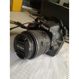 Cámara Semiprofesional Nikon D3200, Seminuevo, Poco Uso.