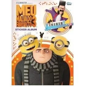Meu Malvado Favorito 3 - Album Completo Figurinhas P/ Colar