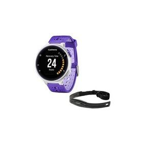 Relógio Garmin Forerunner 230 Monitor Cardíaco Roxo - Branco