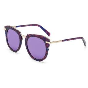 914e8f792edf9 Oculos Redondo Espelhado Roxo De Sol - Óculos no Mercado Livre Brasil