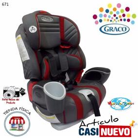 Silla Graco Nautilus De Bebe Para Vehículo Impecable.-