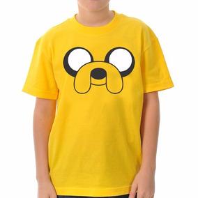 Camiseta Infantil Jake Hora De Aventura 100% Algodão 5725e653ea9