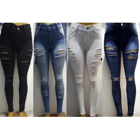 Jeans Roto Chupin Mujer Tiro Alto - Ropa y Accesorios Celeste en ... ae4407b9d18e