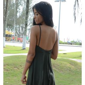 Roupa Feminina Short Estilo Vestidinho Verão Balada Decote