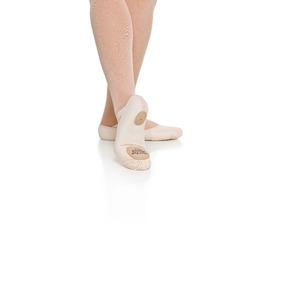b117ddf738 Sapatilha Meia Ponta Glove Foot Lona Com Stretch Capezio
