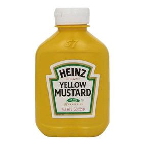 Lote C/ 10 Mostarda Yellow Mustard 255g - Heinz