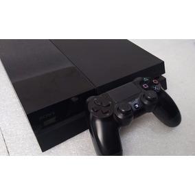Playstation 4 Ps4 Fat Usado Original Sony + Manete + Cabos