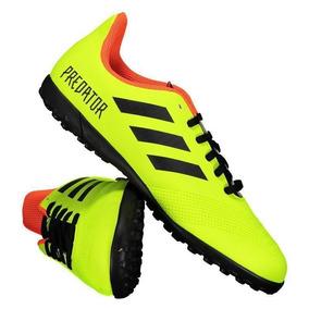 Chuteira adidas Predator Tango 18.4 Tf Society Juvenil Verde por Futfanatics aa20c7d2bb46f