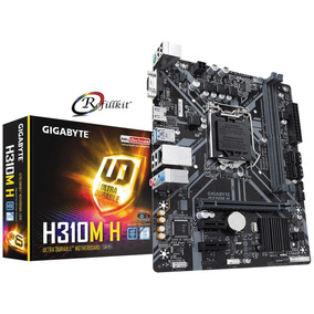 Mother Gigabyte Ga H310m H Intel H310 8600k 8700k Ddr4 Hdmi
