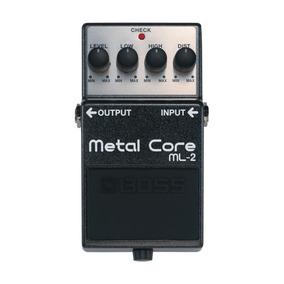 Pedal De Guitarra Boss Ml-2 Metal Core. Negociable