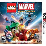Lego Marvel Super Heroes Nintendo 3ds Fisico Sellado !!!