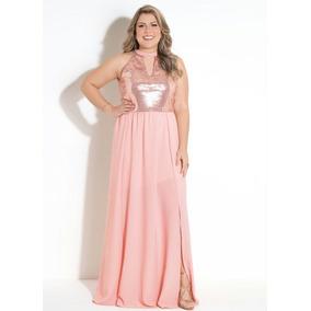 1b54f2c20 Vestido Posthaus Plus Size - Vestidos Femininas Rosa em Sorocaba no ...