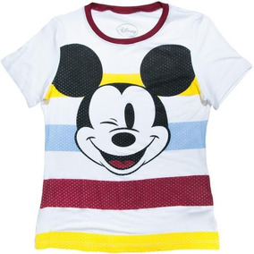 Blusa Disney - American Level - Face Mouse