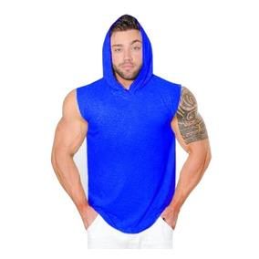 Camisa Regata Com Capuz Lançamento Stecchi Machão Com Toca