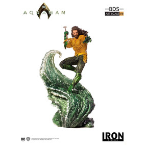 Aquaman 1/10 Iron Studios (leia O Anúncio)