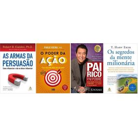 As Armas Da Persuasão + Pai Rico Pai Pobre + 2 Livros