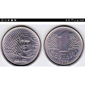 Moeda De 1 Centavos Com Varias Datas-r$8,00 A Unidade