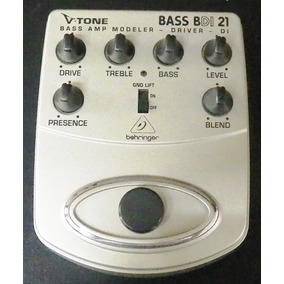 Pedal Behringer Bdi 21 Bass Tone