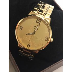 c050024be8d Relógio Feminino Calvin Klein Dourado - Relógios no Mercado Livre Brasil
