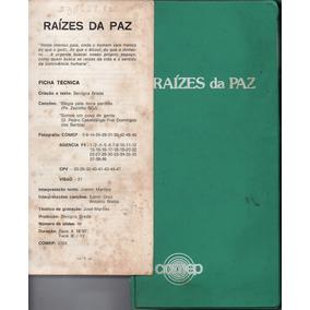 Álbum Raízes Da Paz Audiovisual - Serie Popular (slides)