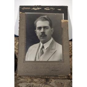 Lázaro Cárdenas Fotografía Autografiada En 1929