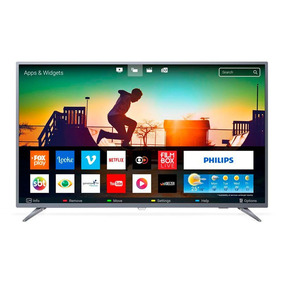 Smart Tv Led 50 Polegadas Philips 4k Usb 3 Hdmi Netflix