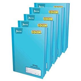 70164c050d Norma Color 360° Cuaderno Cosido Cuadro Chico, Color Azul