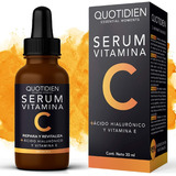 Quotidien Serum Vitamina C+ Vitamina E + Ácido Hialurónico