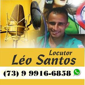 Locutor, Propaganda, Carro De Som, Vinhetas, Comerciais...