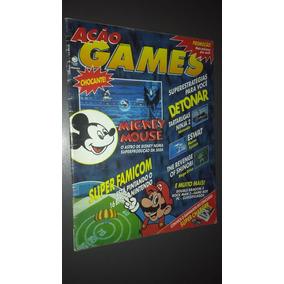 Revista Ação Games Nº 1 Ano 1 Relíquia