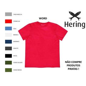 Camisetas Hering World - Camisetas Manga Curta Masculino no Mercado ... 86d1bc6dcba36