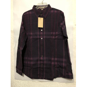 Camisa Burberry Color Morado