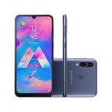 Samsung Galaxy M30 64gb 1298,99 À Vista Lacrado Nf E Garanti