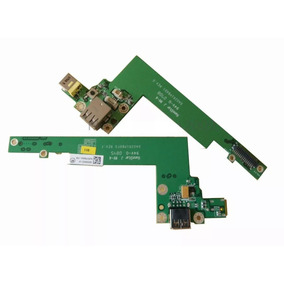 Placa Dc Power Jack E Usb Acer Aspire 3050 3680 5050 5570