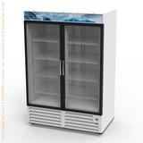 Congelador Comercial Asber Afmd-37 Puertas Cristal 37ft