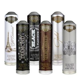 Kit 6 Cuba Prime Diamond Eiffel Golden A Legend I Black Gold